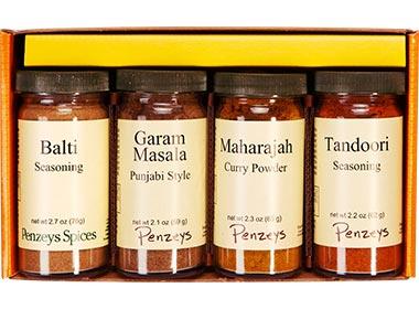 Indian Curries 4 Jar Gift Pack