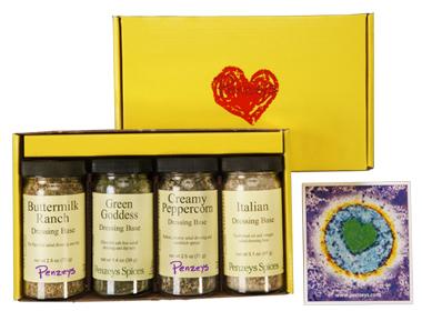 Salad Sampler 4 Jar Gift Pack