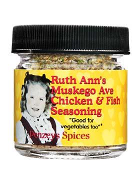 Ruth Ann's Muskego Ave Chicken/Fish Seasoning