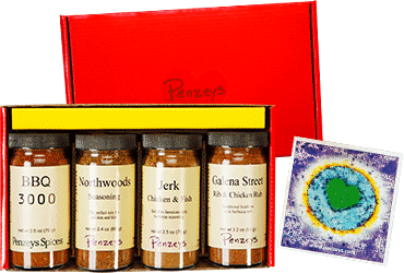 Spices at Penzeys Gift Boxes