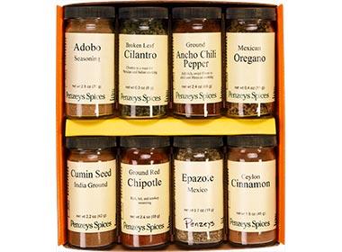 Taste of Mexico 8 Jar Gift Pack