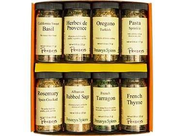 Herb 8 Jar  Gift Pack