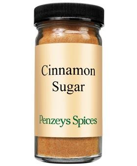 spices at penzeys cinnamon sugar