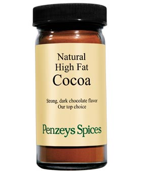 Spices at Penzeys Natural Cocoa Powder
