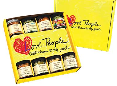 Love People Regular Gift Box-Yellow