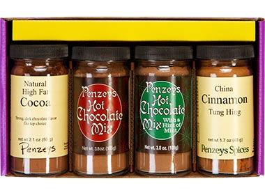 Cocoa Lovers' 4 Jar Gift Pack