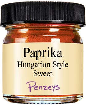 Hungarian Style Sweet Paprika